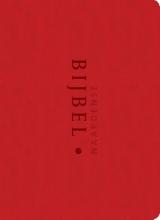 Pieter  Oussoren Naardense Bijbel zakformaat - rood met foedraal