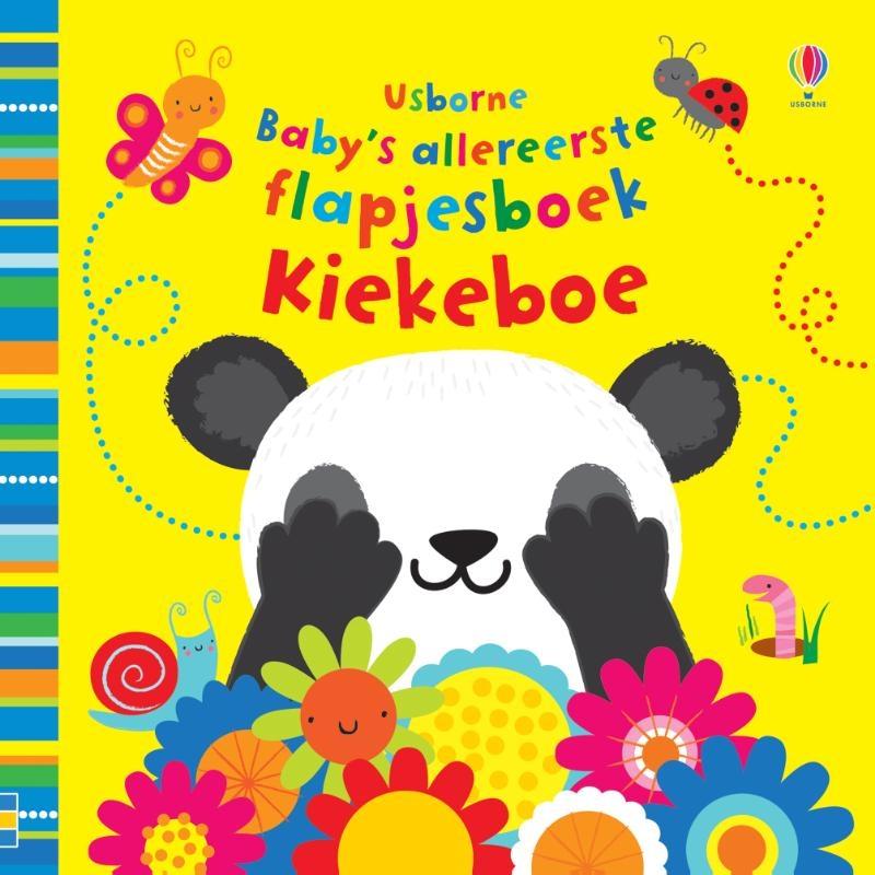 ,Baby`s allereerste speel- en voelboekje Kiekeboe