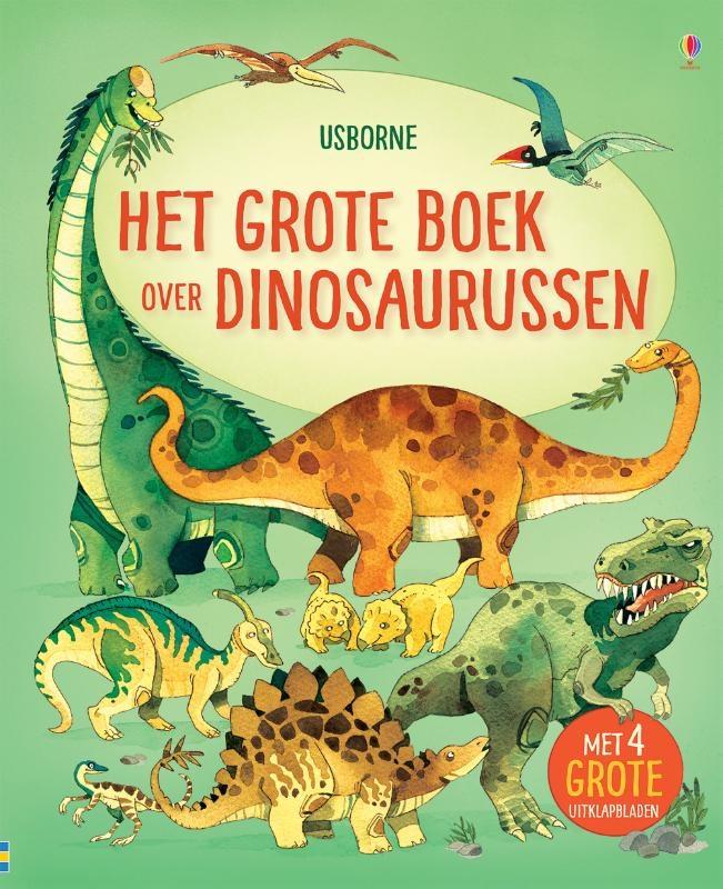 ,Het grote boek over grote dinosaurussen