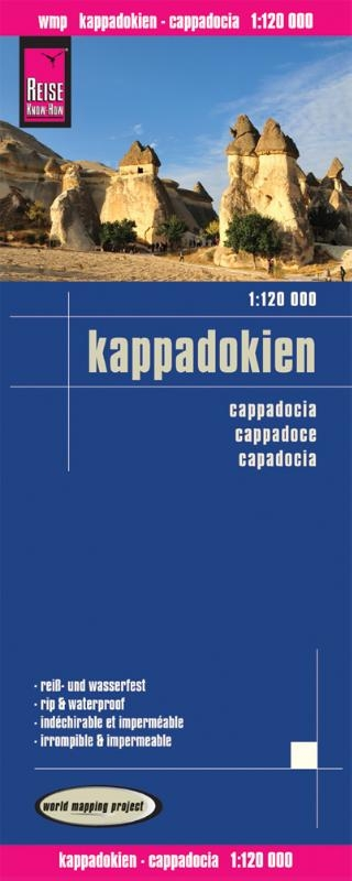 ,Reise Know-How Landkarte Kappadokien 1 : 120 000