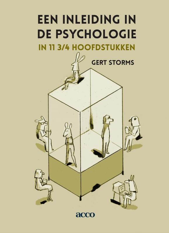 Gert Storms,Een inleiding in de psychologie in 11 3/4 hoofdstukken