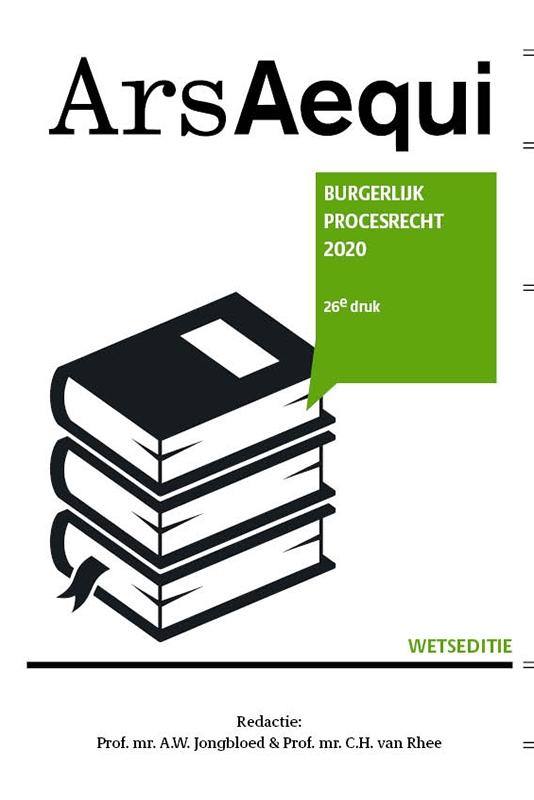 ,Burgerlijk Procesrecht 2020