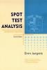 Jungreis, Ervin,Spot Test Analysis