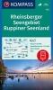 ,Rheinsberger Seengebiet, Ruppiner Seenland 1:50 000