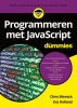 Chris  Minnick, Eva  Holland,Programmeren met JavaScript voor Dummies