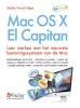 Studio Visual Steps,Mac OS X El Capitan