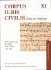 Corpus Iuris Civilis  Novellen 51 - 114,tekst en vertaling
