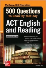 500 ACT English and Reading Questions to Know by Test Day