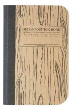 Woodgrain Pocket-Size Decomposition Book