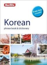 Berlitz Berlitz Phrase Book & Dictionary Korean (Bilingual dictionary)