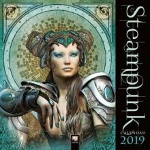 Steampunk Wall Calendar 2019 (Art Calendar)
