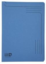 , Insteekmap L-model Exacompta Clean`Safe bedrukt blauw