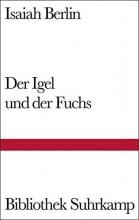 Berlin, Isaiah Der Igel und der Fuchs
