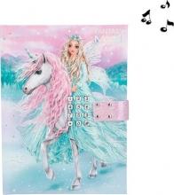 , Fantasy model dagboek met geheime code icefriends