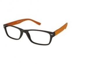 , Leesbril +3.00 Feeling bruin-oranje