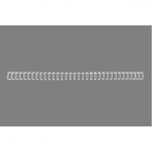 , Draadrug GBC 6mm 34-rings A4 wit 100stuks