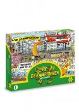 , F.C. De Kampioenen - Het strand puzzel - 1000 stukjes