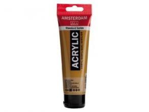 , Talens amsterdam acrylverf tube 120 ml.sienna naturel 234