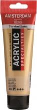 , Talens amsterdam acrylverf tube 120 ml. lichtgoud 802