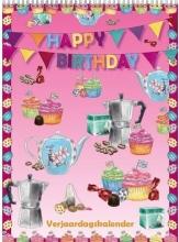 , Verjaardag kalender happy birthday