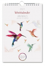 , Michelle Dujardin, Animals, weekkalender 2021