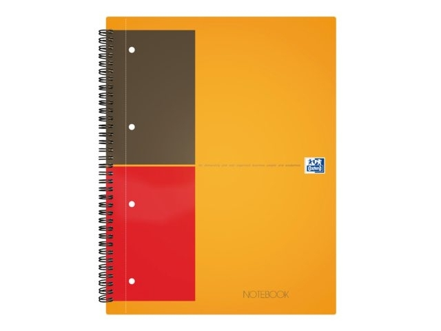 ,Spiraalblok Oxford International Notebook A4 gelinieerd
