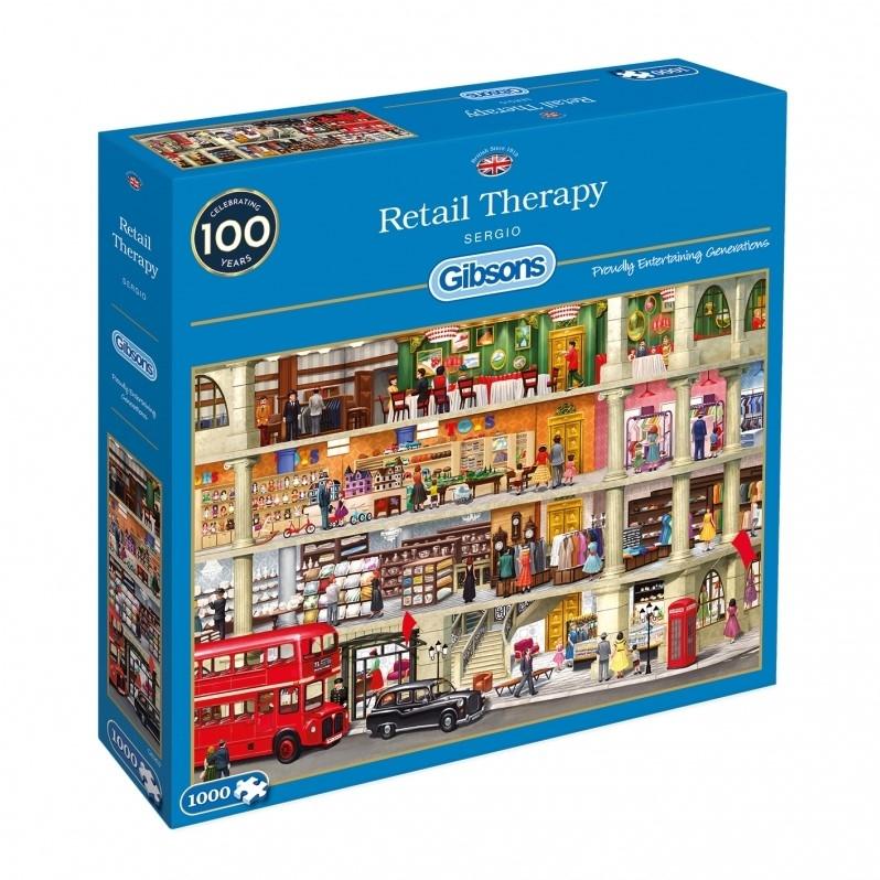 Gib -g6262,Puzzel retail therapy - sergio - gibsons 1000 stuks