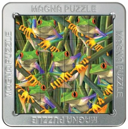 Tff-021225,Puzzel 3d magna tree frogs 16 stuks