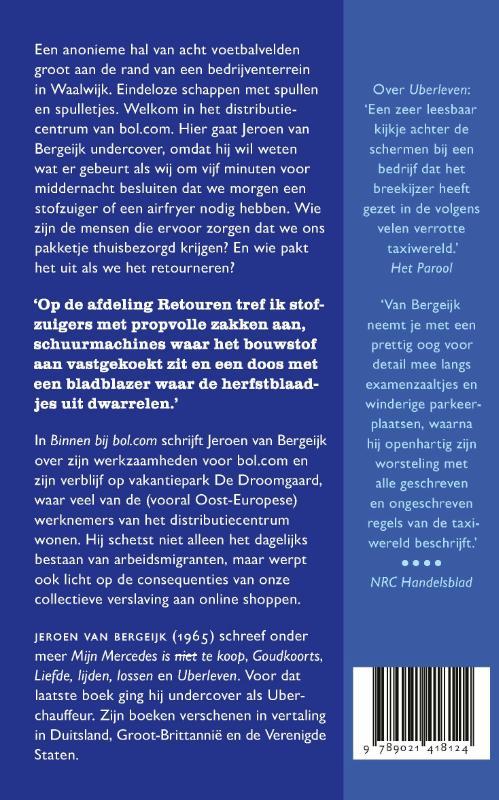 Jeroen van Bergeijk,Binnen bij bol.com