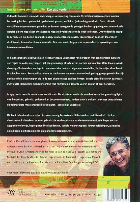D. Pinto,Interculturele communicatie