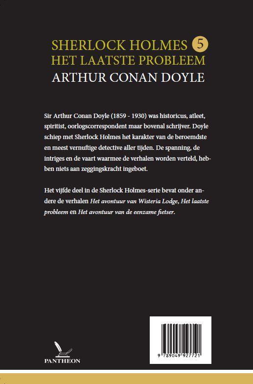 Arthur Conan Doyle,Het laatste probleem