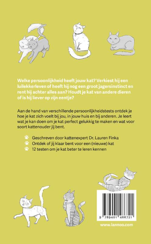 Lauren Finka,Hoe goed ken jij je kat?