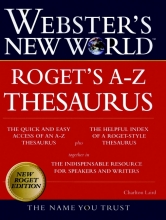 Laird, Charlton,   Agnes, Michael Webster`s New World Roget`s A-Z Thesaurus