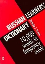 Nicholas J. Brown Russian Learners` Dictionary