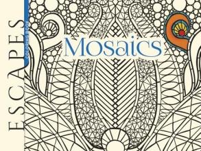 Mazurkiewicz, Jessica Escapes Mosaics Coloring Book