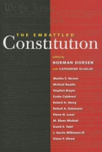 Dorsen, Norman The Embattled Constitution