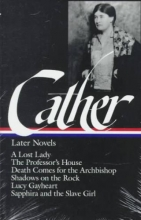 Cather, Willa Willa Cather Later Novels