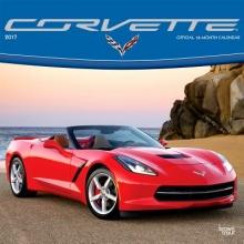 Browntrout Publishers, Inc Corvette 2017 Square (Foil)