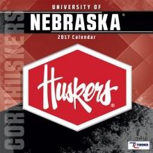 Cal 2017 Nebraska Cornhuskers 2017 12x12 Team Wall Calendar