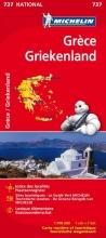 Michelin wegenkaart 737 Griekenland 2012