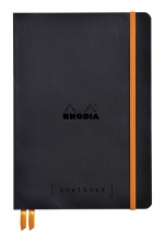 , Bullet Journal Rhodia A5 60vel dots zwart