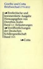 Ergänzungen zu den Briefen 1797 - 1815