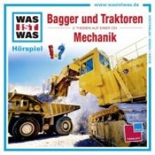 Baur, Manfred Was ist was Hrspiel-CD: Bagger & TraktorenMechanik