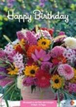 Happy Birthday Blumen Geburtstagskalender