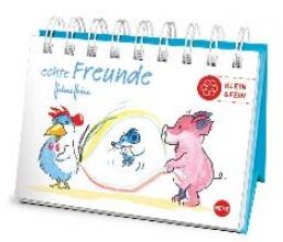 Heine, Helme Helme Heine Echte Freunde Mini-Geschenkbuch