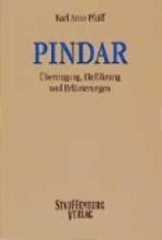 Pfeiff, Karl A Pindar