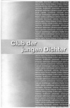 Club der jungen Dichter