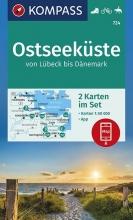 , Ostseeküste von Lübeck bis Dänemark 1:50 000