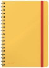 , Notitieboek Leitz Cosy B5 lijn spiraal geel