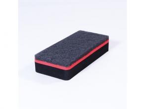 , bordwisser Sigel magnetisch zwart 13x6cm voor               glas-magneetborden